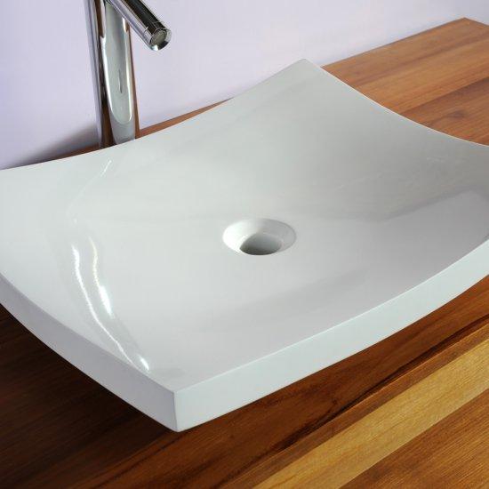 Vasque plate