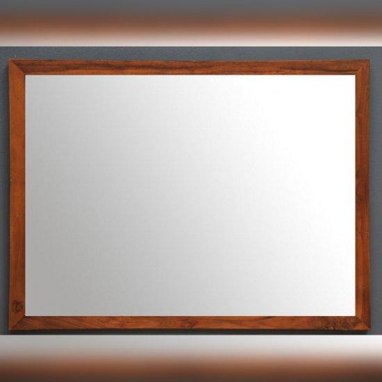 Miroir salle de bain teck 80