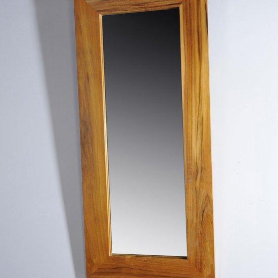 Miroir en teck cleopatra